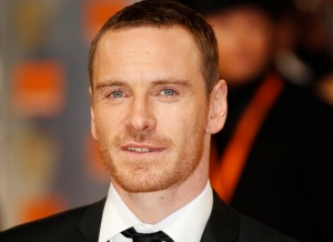 Actor Michael Fassbender arrives for the BAFTA awards ceremony in London