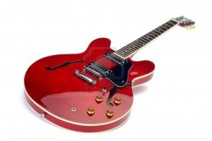 14198426-e-guitar-semi-acoustics-cherry-red