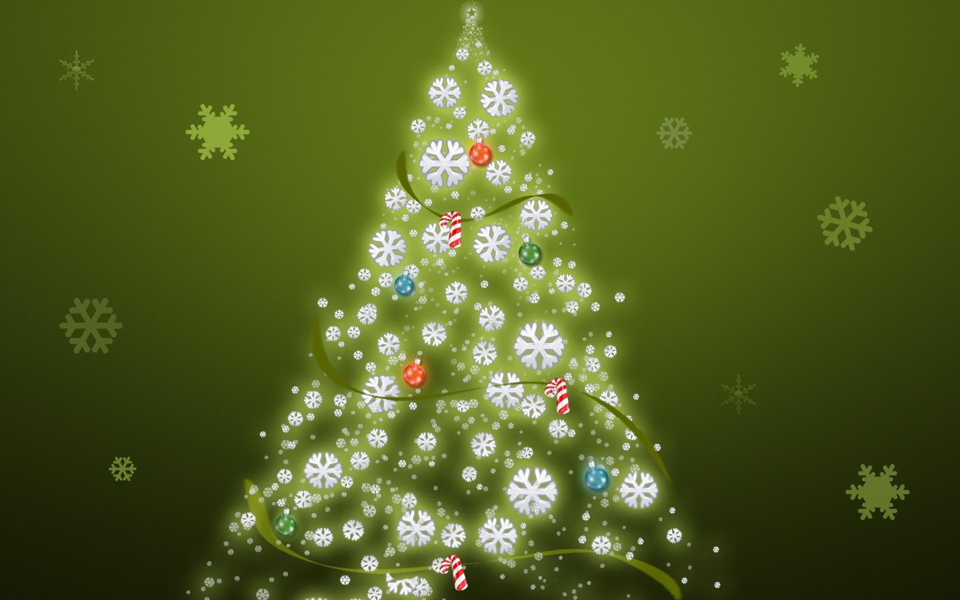 Simple Christmas Tree Wallpapers