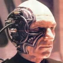 Jean Luc as Borg