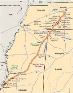 natchez-trace-parkway-map