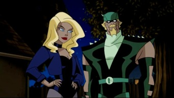 green arrow and black canary - Justice League Unlimited