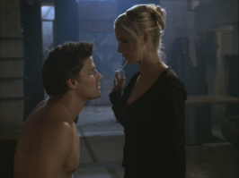 David Boreanaz as Angel in Buffy the Vampire Slayer S03E06 Band Candy 4