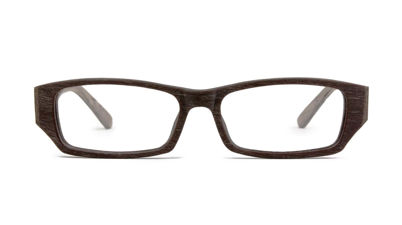 men women eyewear tablin wood eyeglass frames rectangular - Wood Eyeglass Frames