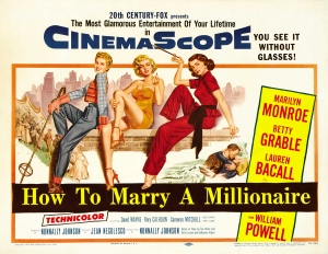 Poster - How to Marry a Millionaire_02