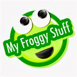 This is a graphic of Gorgeous My Froggy Stuff Printable