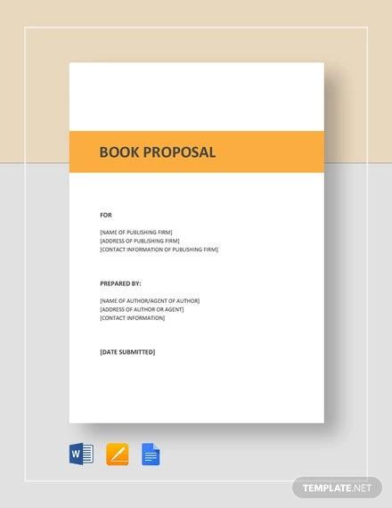 Book-Proposal-Template